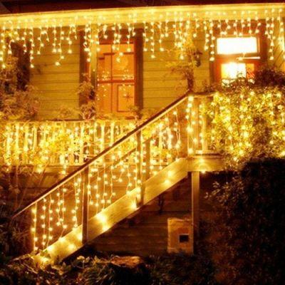 Cascata di LED di Natale