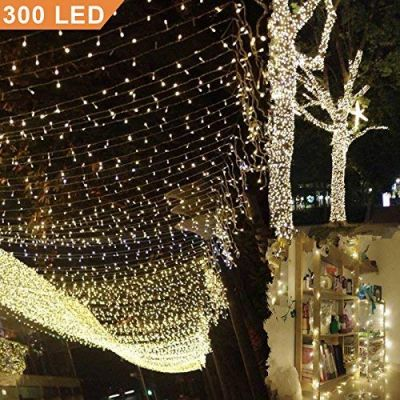 Catena luminosa di luci con 300 LED