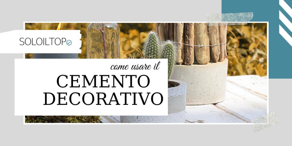 Cemento Decorativo: Cos'è e Come Usarlo