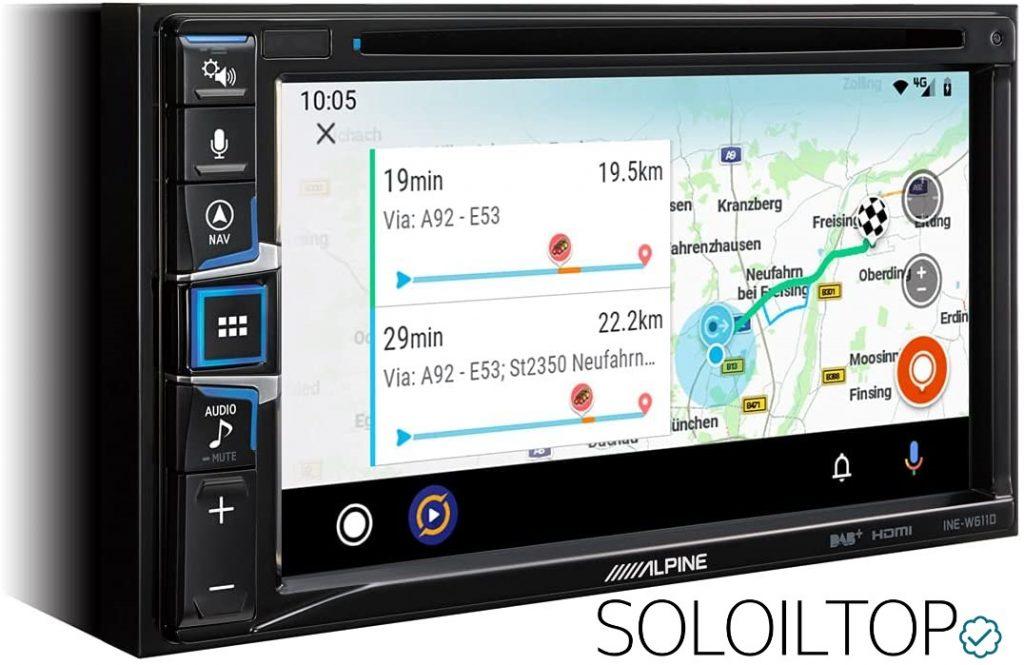 Navigatore GPS INE-W611D