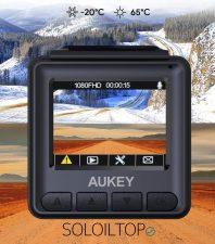 La Mini Dash Cam AUKEY resiste agli sbalzi della temperatura