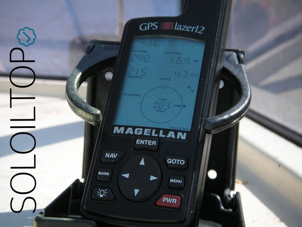 Navigatore satellitare GPS via mare