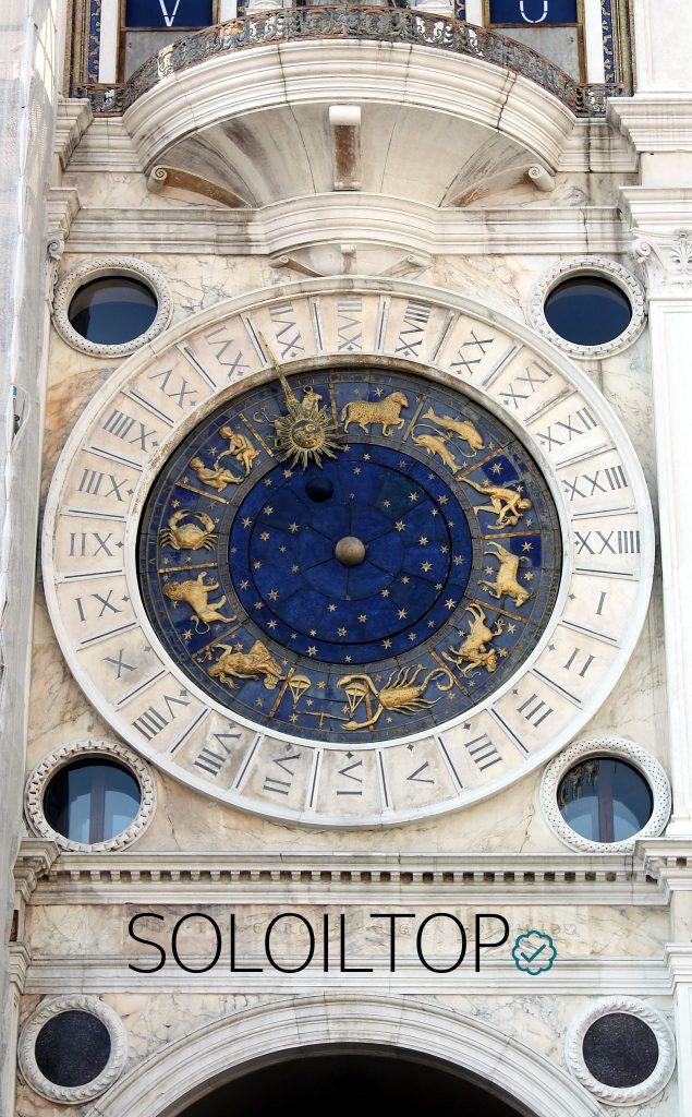 Orologio della Torre dei Mori a Venezia