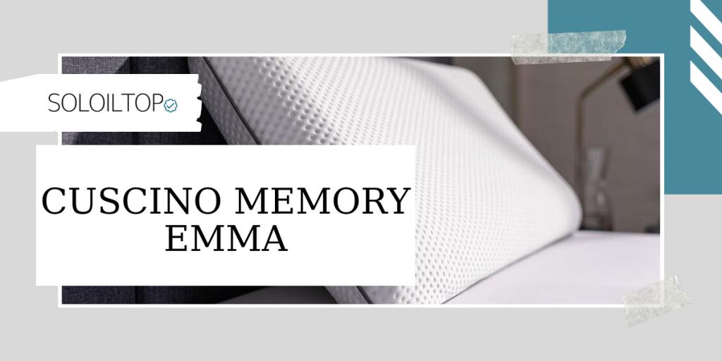 Recensione Cuscino memory Emma