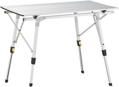 Tavolo da campeggio in alluminio