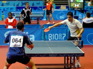 Ping pong dei giochi olimpici Rio