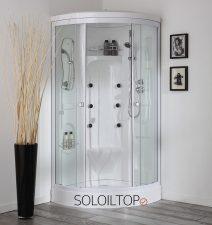 doccia bagnoturco sauna semicircolare