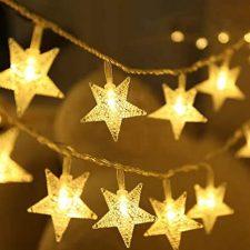 luci di natale a stella