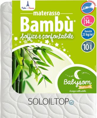 materasso per bambini bambu