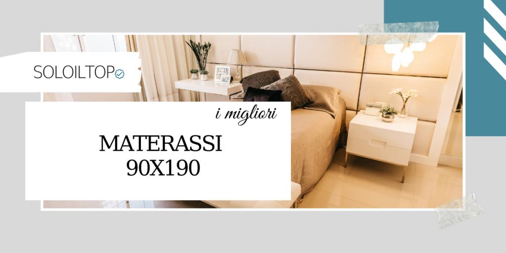 I migliori materassi 90×190, i prodotti top