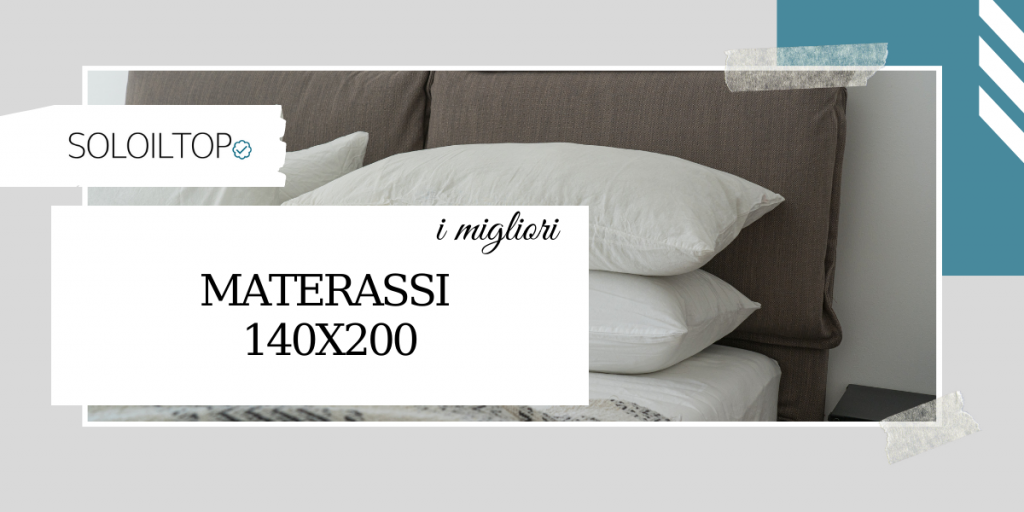 I migliori materassi 140×200, recensioni dei prodotti top
