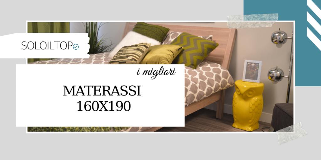 I migliori materassi 160×190 per il tuo letto matrimoniale