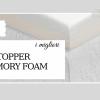 migliori topper memory foam