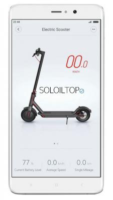 monopattino elettrico xiaomi m365 app smartphone