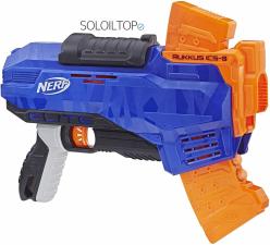pistola nerf hasbro rukkus