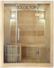 sauna da esterno finlandese