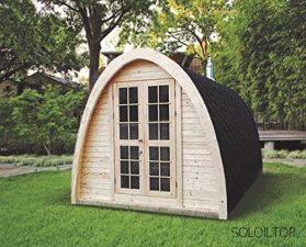 sauna da esterno tradizionale