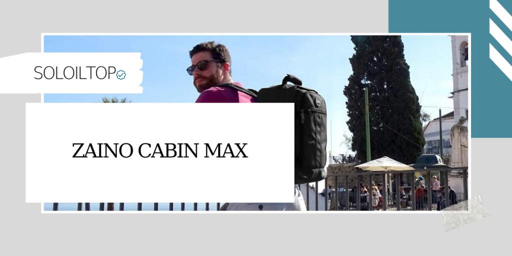 Recensione Zaino Cabin Max: bagaglio a mano leggero