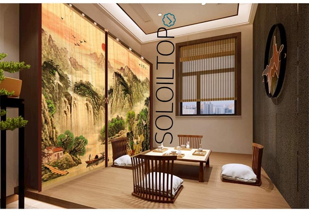 Zanzariera magnetica bamboo